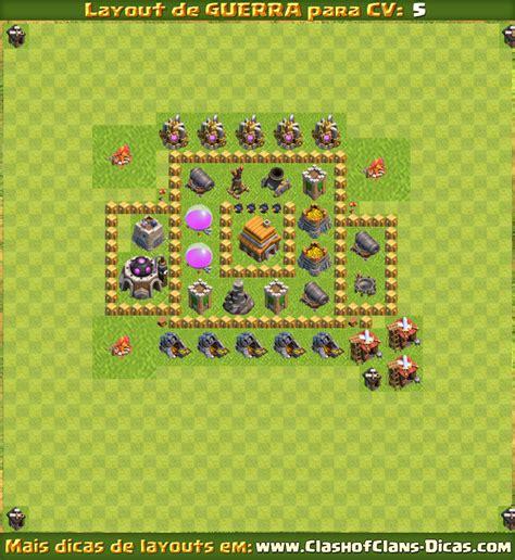 layout cv 5 guerra layouts para cv5 em guerra clash of clans dicas gemas