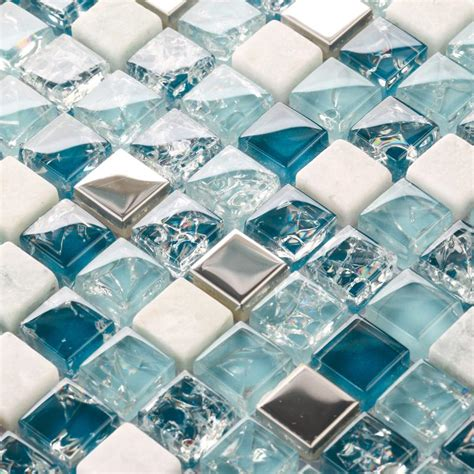 bathroom tile stickers uk crackle glass glass mosaic backsplash tile kitchen