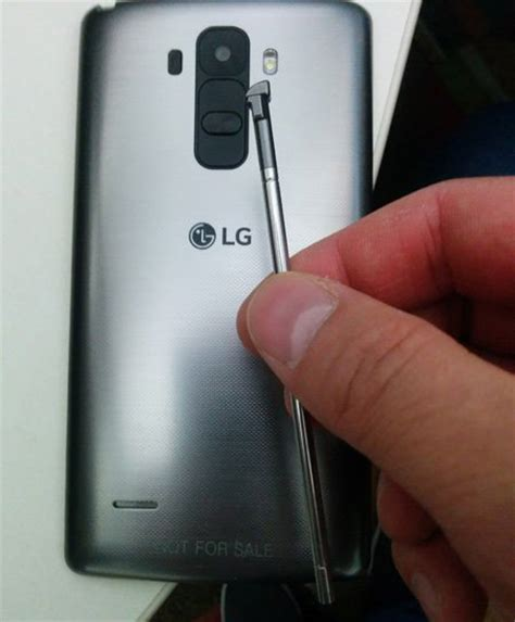 Handphone Lg G4 Stylus alleged image of lg g4 with a stylus spotted gsmarena news