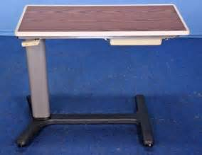 hill rom overbed table used hill rom hillrom bedside hospital bed table bedside