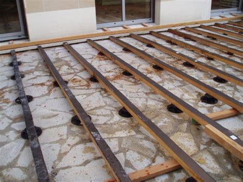 Construire Terrasse En Bois Soi M Me 3337 by Poser Une Terrasse En Bois Davidreed Co