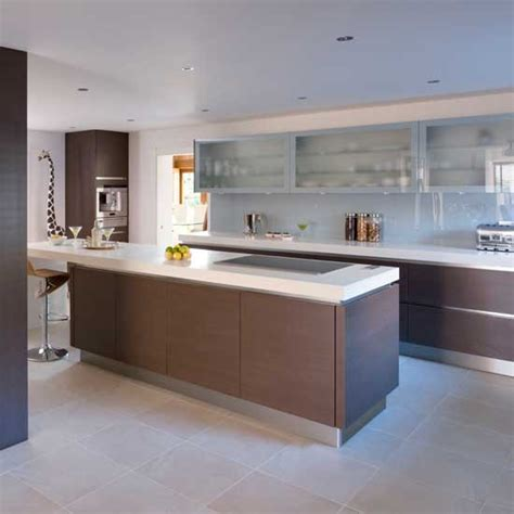 sleek kitchen sleek mocha kitchen housetohome co uk