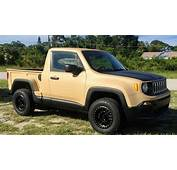 Unique Jeep Renegade Pickup Is An Ode To The Comanche