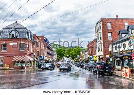 small villages in usa downtown camden maine me usa stock photo 37325029 alamy