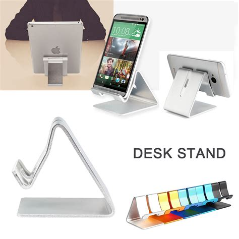 Universal Cell Phone Desk Stand Holder For Tablet Mini Phone Stand For Desk