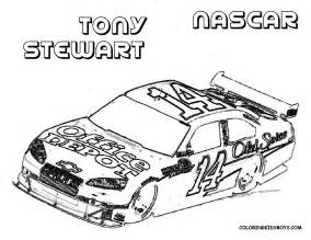 nascar coloring pages car coloring pages of nascar tony stewart 14 gt gt disney