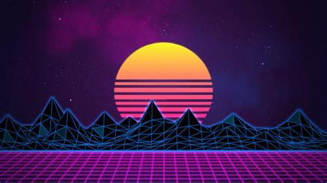 Vaporwave Also Search For Retrowave Neon 80 S Background 4k By Rafael De Jongh On Deviantart