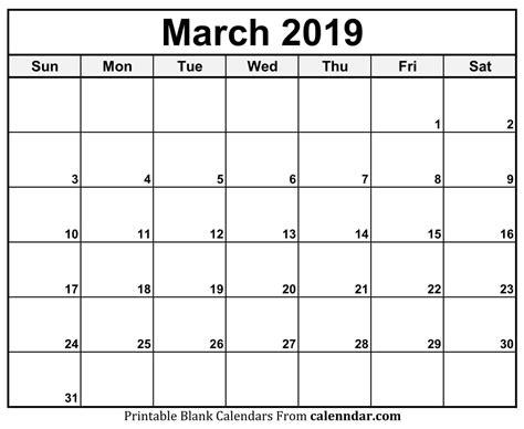 monthly calendar printable  monthly calendar blank