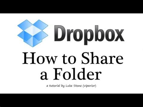 dropbox quit shared folder how to share a dropbox folder tutorial hd 2012 youtube