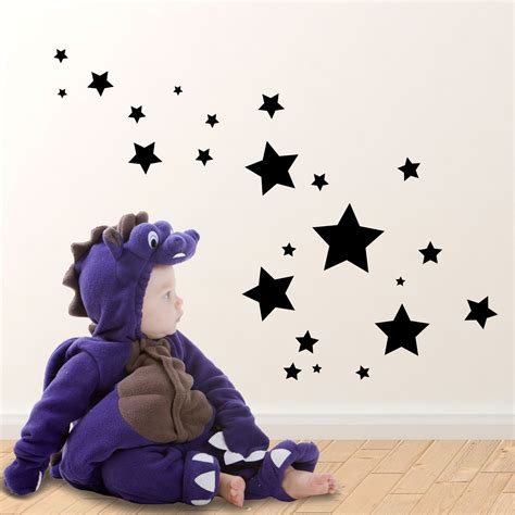 Star Wall Stickers Uk halloween stars wall stickers stickerscape uk