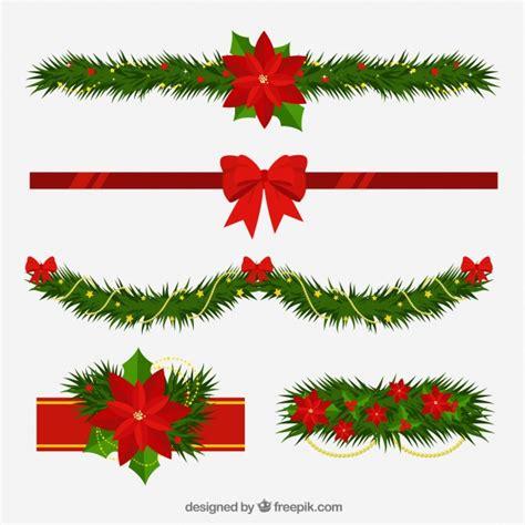 imagenes navidad vectores gratis adornos navide 241 os con estilo floral descargar vectores