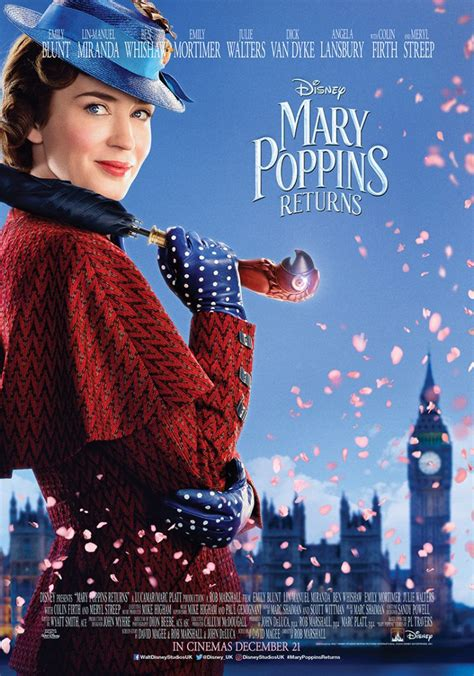 character posters  mary poppins returns