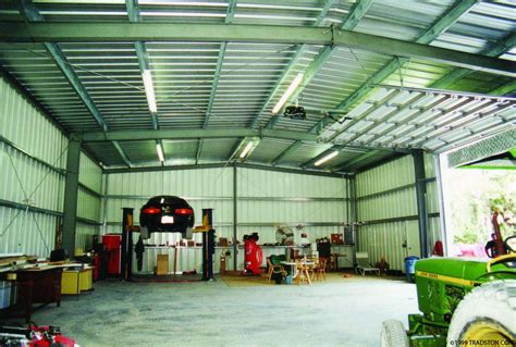 building a garage workshop residential metal buildings steel workshop buildings