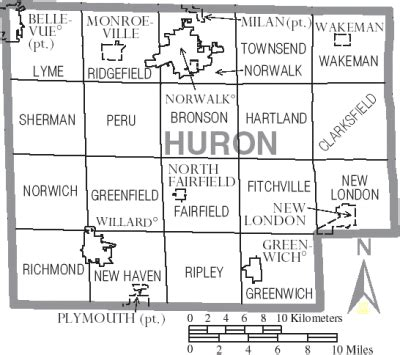 Huron County Records Townships
