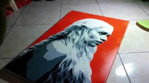 multi layer stencil khaleesi youtube