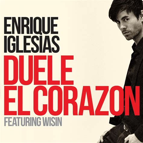 enrique iglesias duele el coraz 243 n paroles traduction
