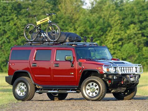 hummer h2 with gm accessories 2003