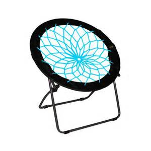 Circle Chair Target Teal Bunjo Bungee Dish Chair With Black 600d Polyester