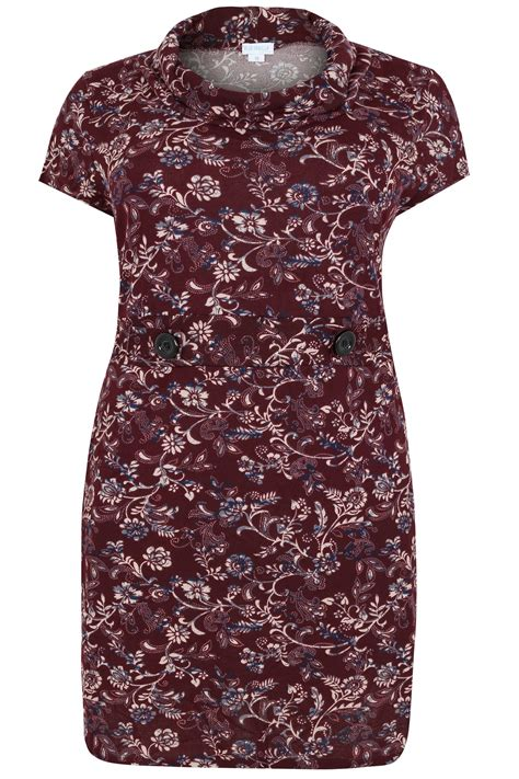 Check Value Of Visa Vanilla Gift Card - blue vanilla curve burgundy floral print textured dress with roll neck plus size 18 to 28