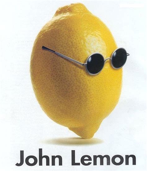 Lemon Memes - i need to know more about an artist named john lemon