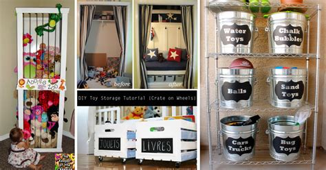 Diy Bedroom Decorating Ideas For Teens by 30 Amazing Diy Toy Storage Ideas For Crafty Moms Cute