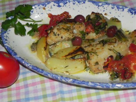 baccal 224 al forno con patate e pomodori