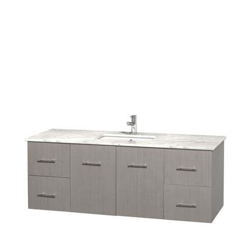 60 inch bathroom vanity single sink white wyndham collection wcvw00960sgocmunsmxx centra 60 inch