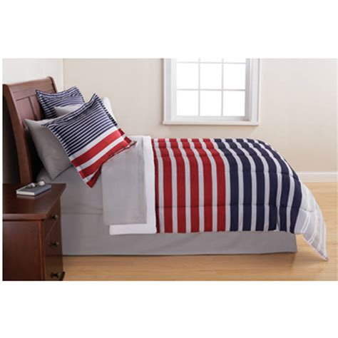 Mainstay Bedding Set Mainstays Fishing Bed In A Bag Coordinated Bedding Set Walmart