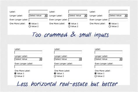 pengertian layout form columnar top aligned labels for multi column form user experience