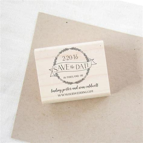 custom wedding invitation rubber st save the date st wedding invitation st wedding