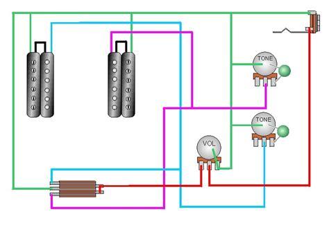 diagramas 2 humbucker switch de 3 vias 2 tonos 1