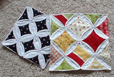 Cathedral Window Patchwork Tutorial - cathedral windows quilt tutorial