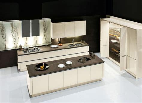 idea cucine moderne cucine con isola centrale o penisola ad angolo lineari
