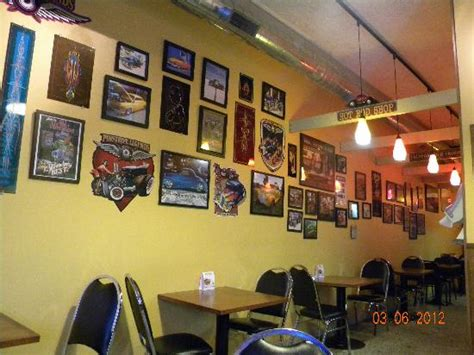 hot rod home decor wall decor picture of hot rod dogs kenosha tripadvisor