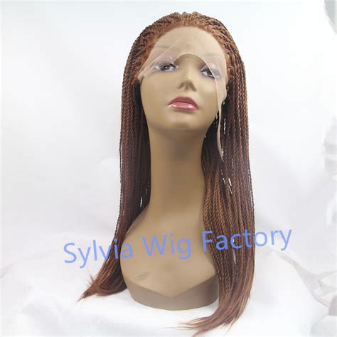 micro braided wigs hot sales african premium synthetic twist braid wigs micro