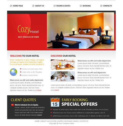 templates for resort website 17 best images about free hotel html templates on