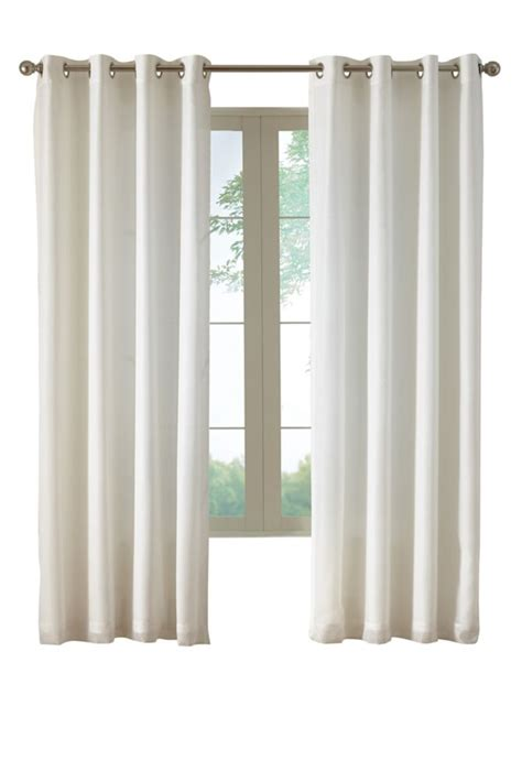 discount grommet curtains window curtain semi sheers canada discount