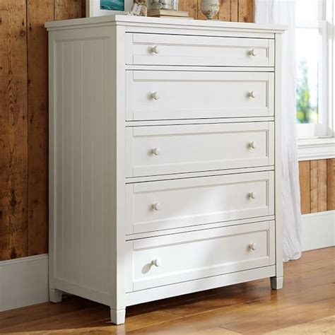 Dresser 5 Drawer by Beadboard 5 Drawer Dresser Pbteen