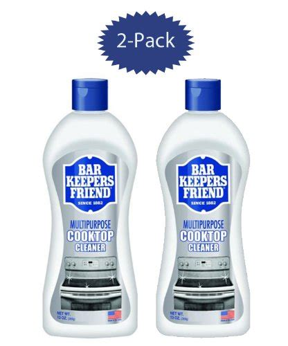 bar keepers friend stove top bar keepers friend cooktop cleaner 13 ounce bottle set
