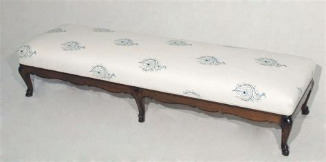 extra long ottoman extra long louis xv bench or ottoman with french indian