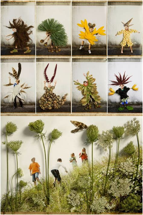 nature craft projects monsters this collage items onto photos