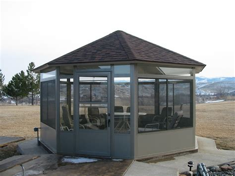 gazebo kits aluminum gazebo kits