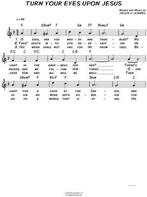 Turn Your Eyes Upon Jesus Guitar Chords