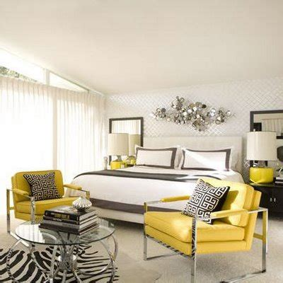 gray bedroom with yellow accents liv luv design color palette gray and yellow bedrooms