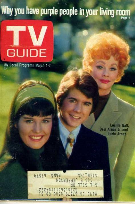 desi arnaz television pinterest tv guide march 1969 lucille ball desi arnaz jr and lucie