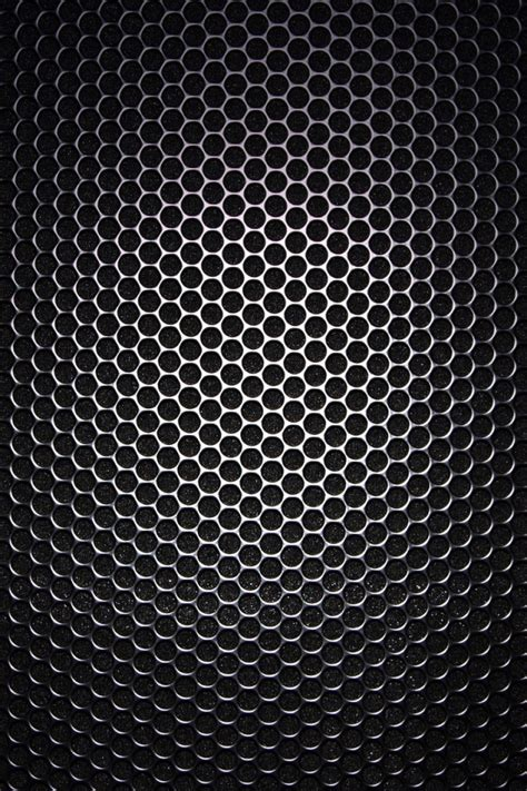 wallpaper black iphone 4 640x960 black honeycomb pattern iphone 4 wallpaper