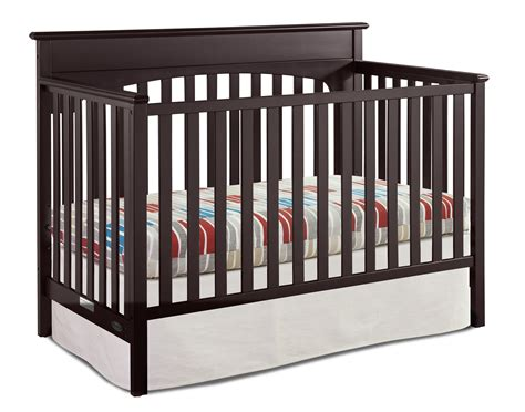 convertible crib espresso graco convertible crib espresso
