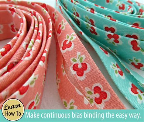 quilting tutorial worry free bias binding how to make your own continuous bias binding sew4home