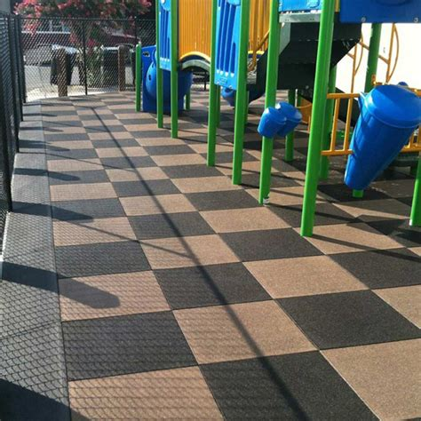 rubber flooring outdoor deco project trading doha qatar