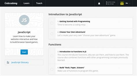 javascript tutorial sites codecademy javascript educator review common sense